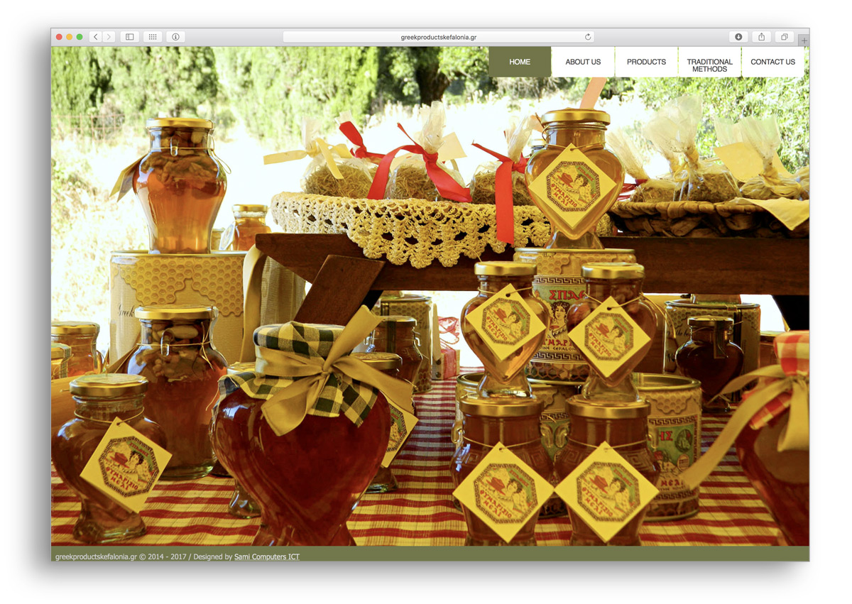 kefalonia websites greek products