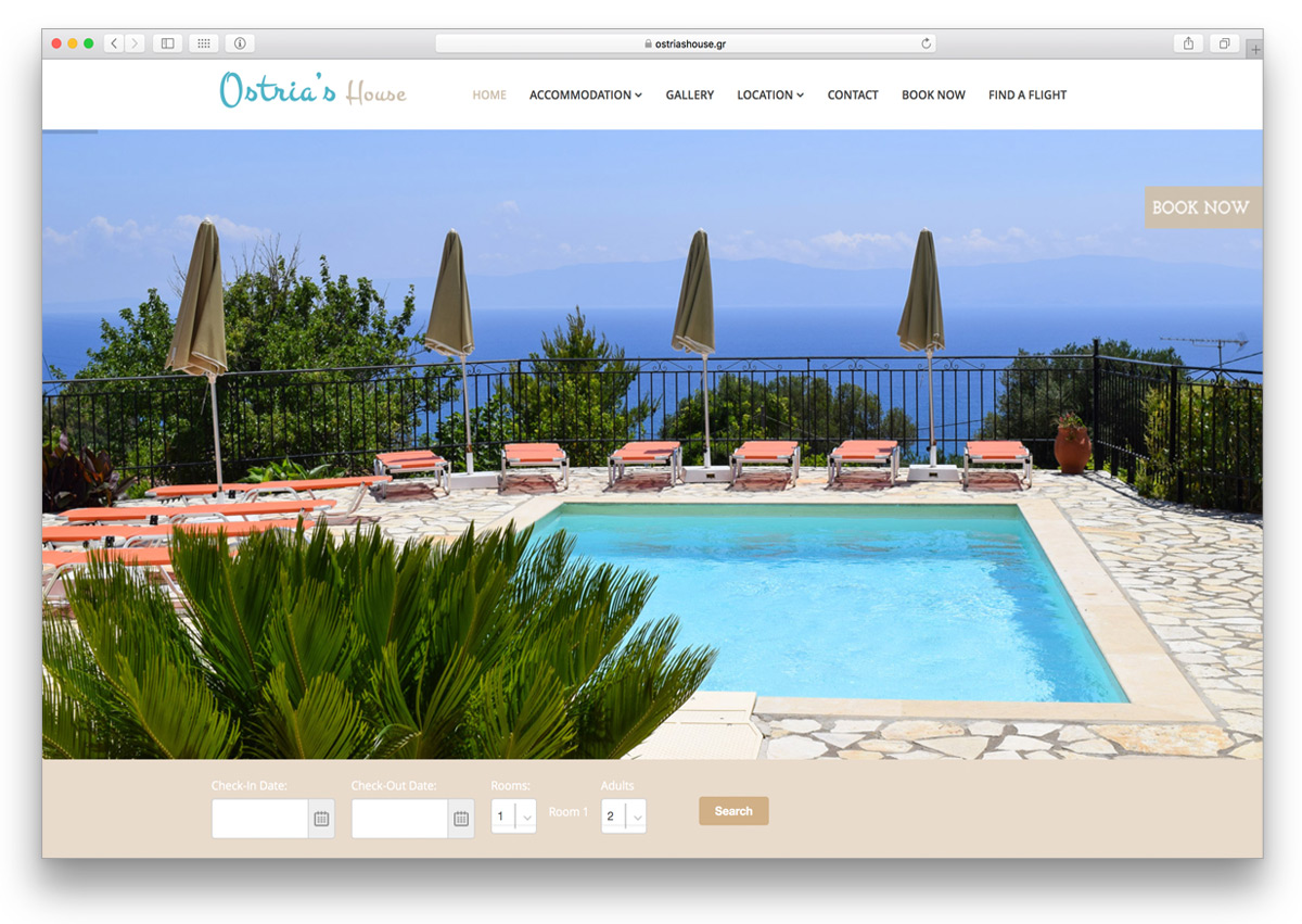 kefalonia websites ostrias house