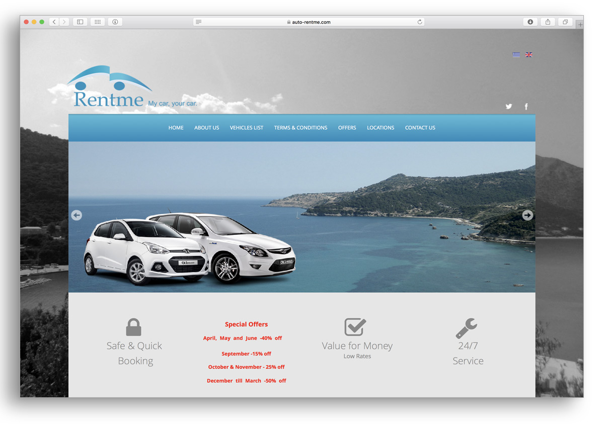kefalonia websites rentme